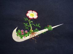 James Merry : Flowery Embroideries Stitched on Classic Sportswear Logo | Sumally (サマリー)