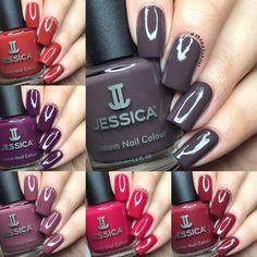 Jessica Geleration, Amazing Nails, Warm Undertone, Natural Nails, Nails Inspiration, Bold Colors, Fun Nails, Hair Beauty, Nail Polish