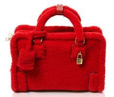 Fill in the Blank: The Loewe Poppy Sheep Amazona Bag looks…