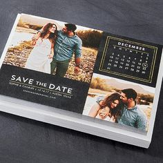 Pro-Tip: Determine the number of couples rather than guests when ordering save the dates. Send them 6 months before the wedding!