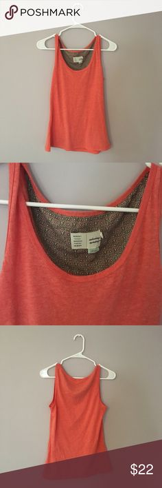 Anthropologie Coral Soft Layering Tank Top Anthropologie Coral Soft Laying Tank Top - Size medium | In new condition - never worn without tags | Brand: Saturday Sunday | 🌟Please see all pictures, ask questions, read description before making your purchase. Anthropologie Tops Tank Tops