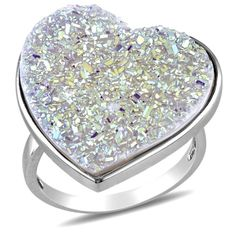 Sterling Silver White Druzy Heart Shaped Ring, Size 6 Amazon Curated Collection,http://www.amazon.com/dp/B006MGPOB6/ref=cm_sw_r_pi_dp_Y.x6rb1TPXQ7W54Q