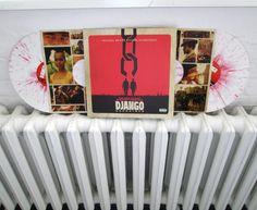 What's back in? The blood splattered vinyl pressing of the Django soundtrack.  >>> http://www.hhv.de/shop/de/artikel/v-a-ost-quentin-tarantino-s-django-unchained-splatter-vinyl-edition-313486