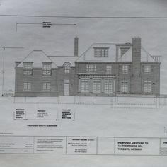 18 Thornwood Rd, Toronto, ON - Proposed South Elevation