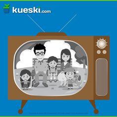 Hace 69 años se hizo la primera transmisión de TV en B/N en México. ¡Festeja con una TV nueva!  #KueskiEfemérides