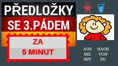 Němčina - předložky se 3. pádem se naučíte za 5 minut, Zuska Vám pomůže :) Signs, Youtube, Poem, German Grammar, Shop Signs, Youtubers, Youtube Movies, Sign