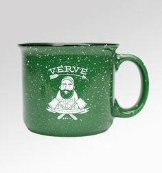 Woodsman Mug: $10 http://www.vervecoffeeroasters.com/collections/merchandise/products/woodsman-mug