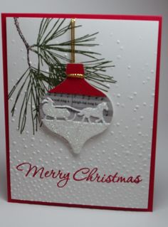 Christmas 2016 - Ornament by bwstamper - Cards and Paper Crafts at Splitcoaststampers