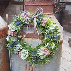 Krans#wreath#florist#blommor#flower#decoration#