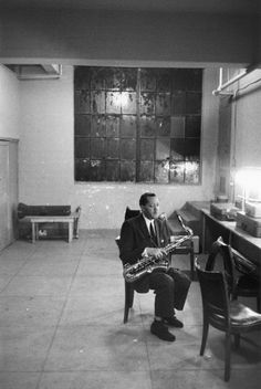Lester Young - Photo by Lee Friedlander