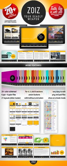 51 best powerpoint template images on pinterest business buy zoiz animated powerpoint template by presentakit on graphicriver overview clean minimalist retro and flexible powerpoint template toneelgroepblik Images