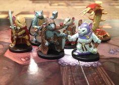 Mice and Mystics in action!