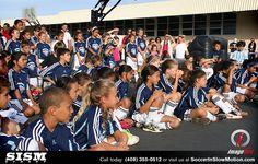 Soccer In Slow Motion with Bazooka Goal Team member Louie Mata.  San Jose, CA