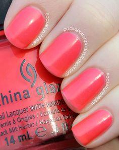 China Glaze Flirty Tankini