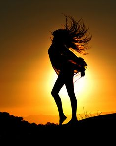 Sunset Dance...♥