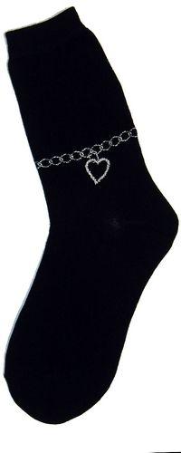 Ankle Bracelet Women's Socks, Foot Traffic