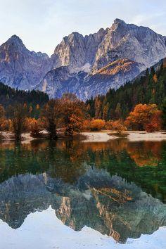 Lake Jasna in The Kranjska Gora Region ~ Northern Slovenia