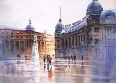 Join artist Dhruba Mazumder, a watercolourist who lives and works in Bucharest, Romania as he shares his art journey, watercolour painting process, and art supplies for watercolor painting. Watercolor Artists, Watercolour Painting, Watercolours, Medieval, Romania Travel, World Water, Painting Process, Bucharest, Louvre