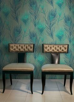 """Arnott"" wallcovering by Carl Robinson: carlrobinson.co.u..."