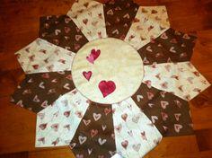 Valentine table topper