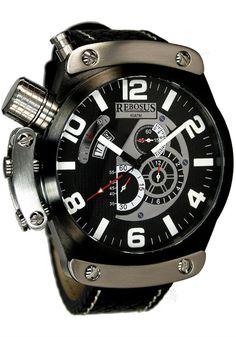 Rebosus 002RS Chronograph Black***