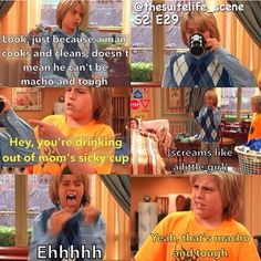 Ah! The suite life on deck! miss that show. It was AWESOME!
