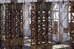 Abandoned Factory in Odessa, Ukraine