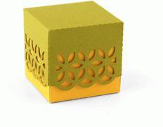 Silhouette Design Store - View Design #68810: 3d lace favor box
