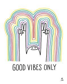 Good Vibes - Print