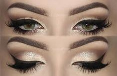 Champagne Smokey Eye Makeup TUTORIAL Link in my Bio! Products Used ✨ Eyebrows Essential Brow Kit ✨ Gel Eyeliner Stunninglyladylike Eyeshadow Base and Brilliant Spellbinding Palette Lane Orr (use the code MELISSASB for 10 Makeup Goals, Makeup Inspo, Makeup Inspiration, Makeup Tips, Beauty Makeup, Makeup Ideas, Makeup Tutorials, Makeup Products, Clean Makeup