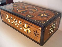 Sailor's Inlaid Ditty Box