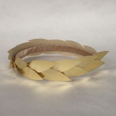 C by Cosima Borawska Headpieces. Handmade and one of a kind.  Headpieces, headbands and combs. https://m.facebook.com/cbycosimaborawska  Gold Leaf Crown