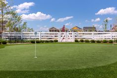 Putting green. #NortonCommons