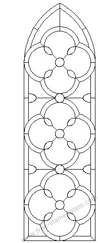 arched stained glass windows for great Hall?