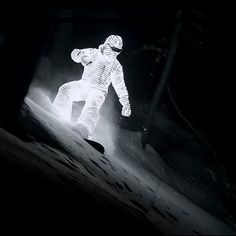 LED Snowboarding by Jacob Sutton