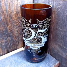 My favorite beer of all time! 25th Anniversary, Recycled Glass, Pint Glass, Glass Bottles, Vanilla, Beer, Mugs, My Favorite Things, Tableware