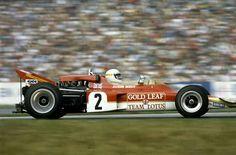 1970 German GP, Hockenheimring : Jochen Rindt, Lotus-Ford 72C #2, Gold Leaf Team Lotus, Winner. (ph: © Schlegelmilch) F1 Lotus, Jochen Rindt, Lancia Delta, Monaco Grand Prix, Formula 1 Car, Old Race Cars, Car And Driver, World Championship, Ford