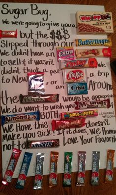 40th Birthday candy bar poem!! Can use it for 30, 40, 50 ...
