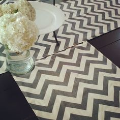 Chevron Table Runners only $11.99