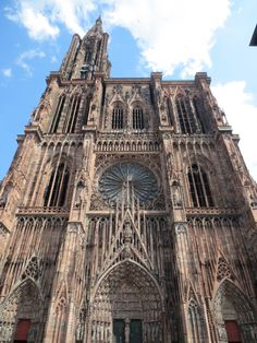 Notre Dame ~ Strasbourg ~ France; the most impressive piece of architecture I've seen!!