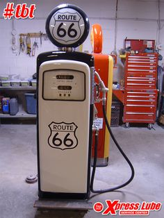 Xpress Lube Service Center no appointment necessary drive through oil change and vehicle maintenance facility in Simi Valley and Ventura California. Old Gas Pumps, Vintage Gas Pumps, Pompe A Essence, Retro, Old Route 66, Garage Art, Barn Garage, Old Gas Stations, Filling Station