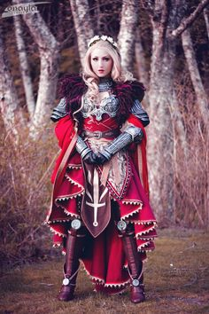 Cullen - The Templar by elliria Character: Cullen Rutherford Series: Dragon Age: Inquisition Cosplayer: Enayla Here's the first finished shot of my female Cullen cosplay from Dragon Age: Inquisition! This costume has been such a labor of love and I've had so much fun reinterpreting his design.