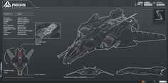 Star Citizen Aegis Sabre Concept Art - Album on Imgur