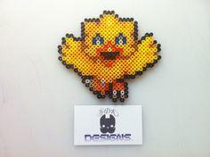 Final Fantasy Chocobo Bead Sprite Art- MAGNET