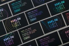 Harlow Light Trail - D&AD Pantone Brief 2015 on Behance