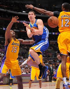 4.12.13 | Klay Thompson scored 25 points and dished out seven assists.