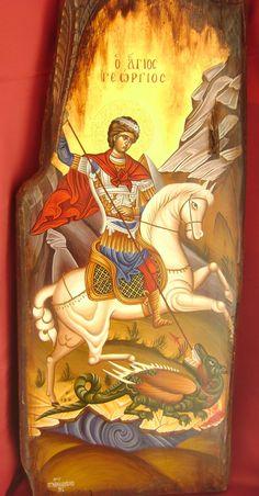 | Serbian Orthodox Church [Official web site] Famous Freemasons, Saint George And The Dragon, Greek Icons, St Sebastian, Orthodox Icons, All Icon, Whimsical Art, Religious Art, Flower Art