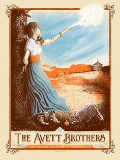 The Avett Brothers: Wilmington, NC, April 12, 2013; by Zeb Love