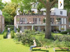 """Neubau von 20 Eigentumswohnungen im Neubauprojekt """"QuellentalGärten"""" in Hamburg Wohldorf-Ohlstedt. Foto: PROJECT Immobilien Hamburg"""