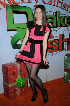 Miranda Cosgrove. Very sexy and pretty. Smashing Colourful shot. Sal P.